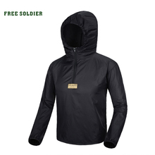 FREE SOLDIER Trench coat men outdoor Popular skin clothing anti-uv Breathable ultra-thin light quick-drying