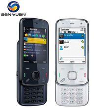 Original Nokia N86 Unlocked cell phone 8MP Camera GPS WIFI Bluetooth N86 3G mobile phone Russian keyboard Support