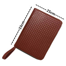 Beat price Fountain Pen Case 48 Leather New Coffee Color AR12