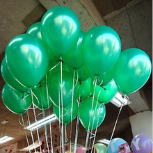 Buy Free 100pc/Lot 10' Inch1.2g Green Wedding Party Decoration Happy Birthday Christmas Party Balloons Classic Toys for $5.25 in AliExpress store