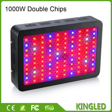 Hot Double Chips 1200W 1000W 600W LED Grow Light Full Spectrum for Greenhouse Hydroponic Indoor Garden Growing Light High Yield(China)