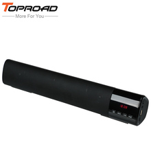 TOPROAD Big Power 10W HIFI Portable Wireless Bluetooth Speaker Stereo Soundbar TF FM USB Subwoofer Column for Computer TV Phone