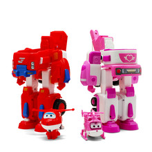 4 styles Deformation Armor Super wings Transformation robot car toys Rescue Action Figures Toys Super Wing toys Christmas gifts(China)