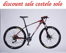 Only 1099$ COSTELO SOLO mountain mtb bicycle bike 27.5 29 inch double disc bicicleta bicicletta complete bike suspension bicycle(China)