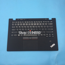 Original cover for Lenovo keyboard IBM ThinkPad X1 carbon top cover palm pad with keyboard layout laptop with touchpad 3 on beha