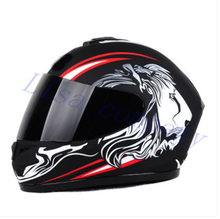 2016 hot sale Men's motorcycle helmet all covered the sunscreen four seasons electric vehicle safety helmet motorcycle racing