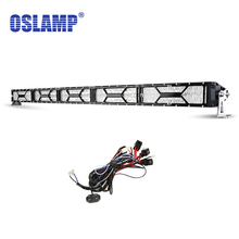 "Oslamp 52"" 500W LED Offroad Light Bar CREE Chips Combo Beam Led Work Light for Jeep Truck ATV SUV Pickup 4WD 4x4 Led Bar 12v 24v"