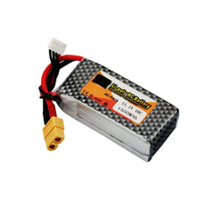 Lithium Polymer Power Lipo Battery 11.1V 1500mAh 3S 40C XT60 Plug For RC Helicopter Car Truck Hobby Drone Parts Bateria