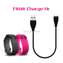 wholesale 100pcs/lot New USB Charger Charging Cable For Fitbit Charge HR Smart Wristband good quality
