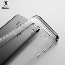 Baseus armor case for samsung Galaxy S8 TPU Transparent Air Bag Full protection Anti-knock phone Case for samsung Galaxy S8