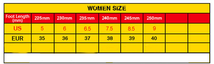 size-chart-for-women