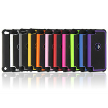 For iPod Touch 6 Ballistic Plastic Case Silicone Cover For iPod Touch 5 5th Shockproof Hybrid Cover(China)
