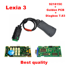 2016 Newest V7.83 with 921815C Firmware lexia ! Hot Lexia3 PP2000 V48/V25 Lexia 3 Diagbox 7.83 For Citroen Peugeot Free shipping