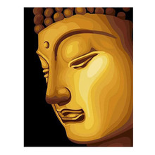 New Diamond Painting Cross Stitch Kits Needlework Full Drill Round Mosaic Diamond Embroidery Rhinestone Home Decor Buddha Had
