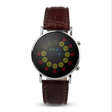 Fashion Waterproof Casual Watch LED Touch Screen Smart Men Wristwatches Day Date PU leather Lovers Watch Mens Top Brand Luxury
