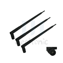 3 x 9dBi RP-SMA Dual Band WiFi Antennas for TP-Link TL-WR2543ND TL-WR1043ND for Buffalo WZR-HP-G450H