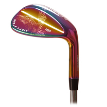 herrick golf clubs wedges right handed unisex Colorful color 50/52/56/58/60 Degree Steel Shaft Reversible spin technique(China)