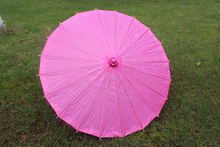 (10 pieces/lot) New solid color paper parasol Fancy out-door wedding parasols Diameter 23.6 inches