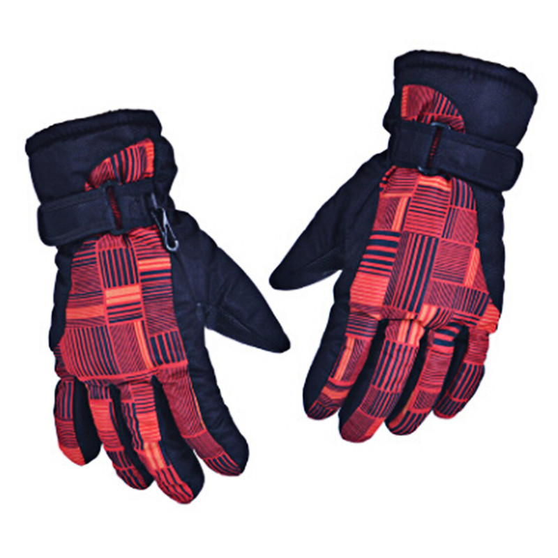 Ski Gloves Men Women Snowboard Gloves Snowmobile Motorcycle Riding Winter Windproof Waterproof Warm Gloves Snow Skiing Equipment 5