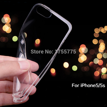 10PCS Ultra Thin Silicon Soft Clear Case for ipone Iphone 5 5S SE Crystal Clear TPU phone Cases Cover For IPhone 5S iphone5 Case