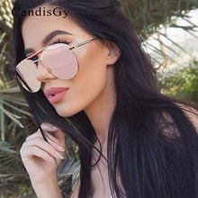 Flat Lens High Quality Brand Designer Sunglasses Women Men Thom Mirror Sun Glasses Top Pink Fashion Trend Stylish Pilot Eyewear