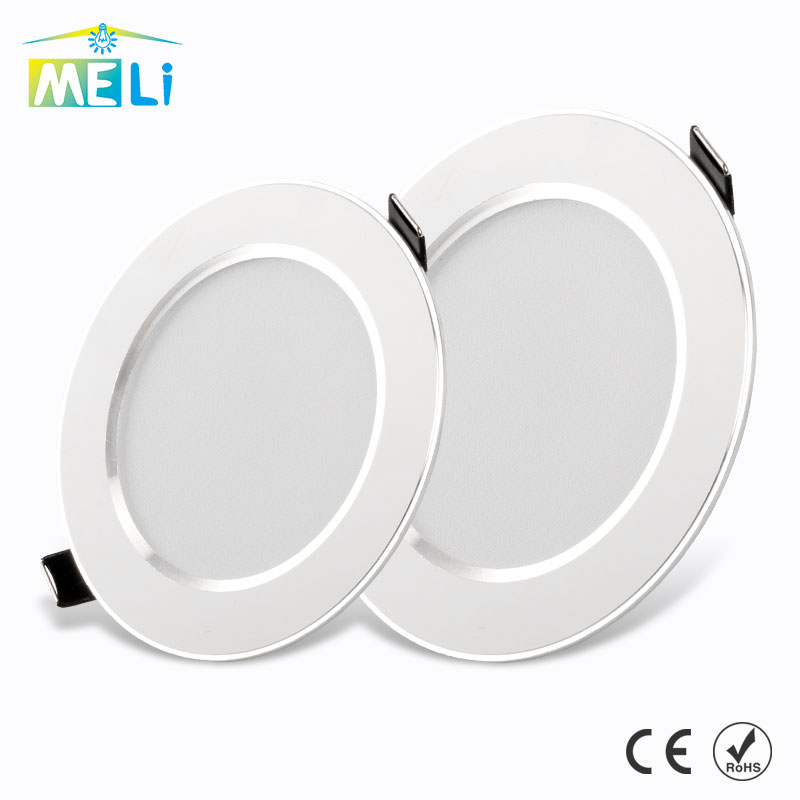 LED Downlight 3W 5W 7W 9W 12W 15W Round Recessed Lamp 220V 230V 240V Led Bulb Bedroom Kitchen Indoor LED Spot Lighting(China)