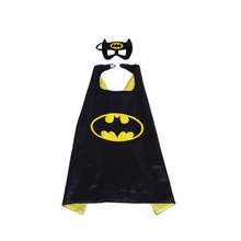 Children Cape Party Christmas Halloween Batman Superhero Marvel The Avengers Cloak Gown Robe and Mask Gift For Kids Boy Girl