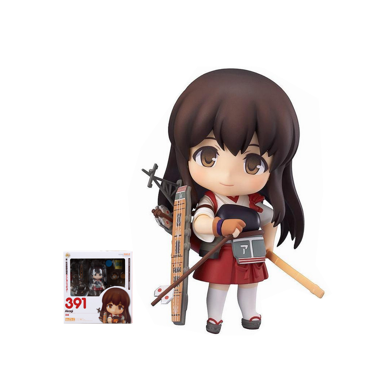 GSC Nendoroid 391# Battleship Collection Akagi Boxed Action Figure Model Collection Toy 10cm 4<br><br>Aliexpress