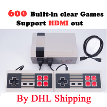 5-120pieces HDMI Out Retro Classic Game Player Family TV Video Game Console Built-in 600 Games with 2 Gamepads PAL&NTSC HDMI Out(China)