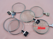 5pcs Free Shipping Optical Ophthalmic lenses Trial lenses for trial lens set Metal rim DIA 38mm(China)