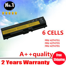 Wholesale New 6cells laptop battery FOR Lenovo  T410 T420 ThinkPad E40 E50 42T4733 42T4235 42T4731 42T4733 free shipping