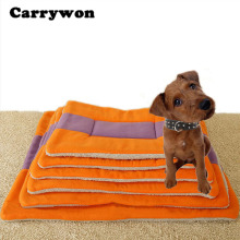 Carrywon XS S M L XL 2XL Winter Warm Soft Hand Wash Kennel Pet Dog Mat Cushion For Cat Dog Bed Mat
