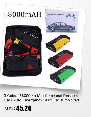 3 Colors 50800ma Multifunctional Portable Cars Auto Emergency Start Car Jump Starter Power Bank With Three Lights Engine Booster