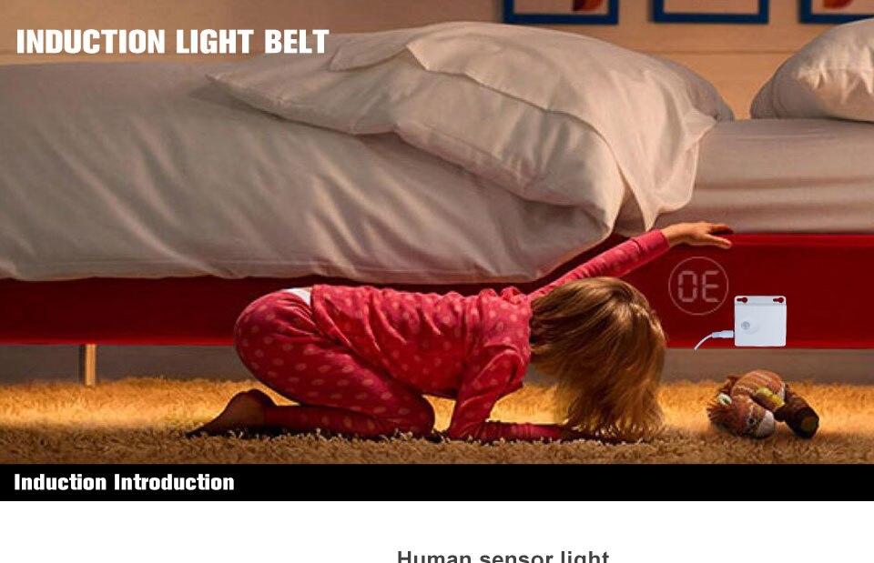 RGB LED motion sensor tape light (1)