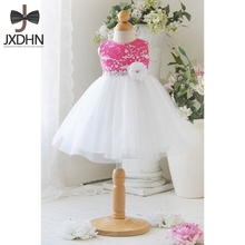 2017 Summer Wedding Girls Dresses for Size 6 7 8 Birthday Party Girl Princess Dress Children Ball Gown Clothing Kids Clothes