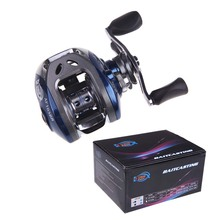 AF103 Fish Wheel Baitcasting Reel Fishing Tackle 10+1BB Ball Bearings Bait Casting Carp Spinning Fishing Reel Pesca 6.3:1