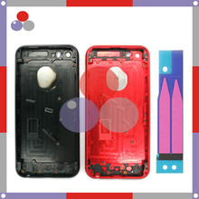 High Quality New Battery Back Cover Housing For iPhone 5 5S style 7 Like 7 Full Red black color+Battery stickers