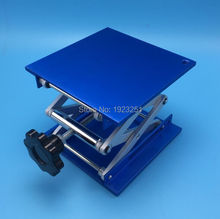 Free shipping,ISO Lab support jack size100x100mm (4 inches) Aluminum Oxide  Lifting Table Raising Platform,Top quality