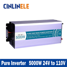 Smart Series Pure Sine Wave Inverter 5000W CLP5000A-241 DC 24V to AC 110V 5000W Surge Power 10000W