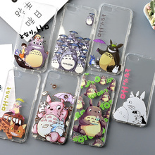 High Quality Soft Cute Totoro Phone Cases Fundas for iPhone 7 6 6S Plus Coque- 150105