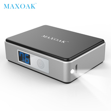 MAXOAK 5200mAh 18650 mini power bank portable external battery Digital Display battery bank charger mobile phone(China)