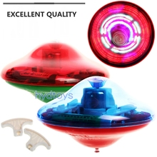 2015 Flashing Spinning Tops Beyblade Toy Top Children Classic Toy Gyroscope Light Music Kids Game Toys Free Shipping(China)