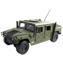 New 1:18 Military USA Hummer Alloy Car Model Military Vehicles For Kids Birthday Gift Toy Free Shipping Original Box(China)