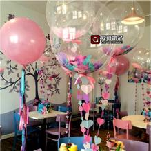 20pcs/lot 10/18/24inch No wrinkles round Clear PVC Balloons Transparent Balloon Wedding Brithday Party Decoration helium globos