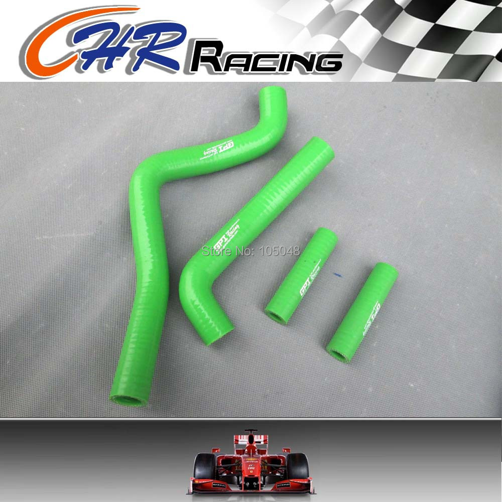 For Kawasaki KX125 KX 125 99 00 01 02 1999 2000 2001 2002 silicone radiator hose(China (Mainland))