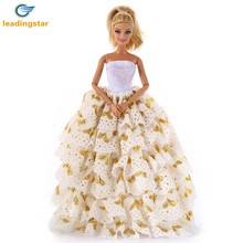 LeadingStar Multilayer Bobbi Doll/Pullip Doll/Jenny Doll Sexy Wedding Dress Nice and lovely gift for children(China)