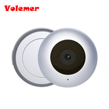Volemer C2 DV Mini Camera HD 1080P Round Micro Cam Motion Detection Sensor Mini Kamera with Magnetic Clip Outdoor Video Record(China)