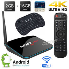 Buy Android TV Box S905X Quad-Core M96X pro smart TV Box 2G+16G Android 6.0 2.4GHz Wifi 4K2K HD Media Player 3D Set-top Box for $59.26 in AliExpress store
