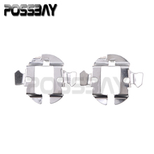 Auto Car Cover 2pcs H7 HID Xenon bulbs Headlight Adapters Holders Conversion Kit Converters For Audi A6
