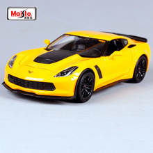 Maisto 1:24 2015 Corvette Z06 Diecast Model Car Toy New In Box Free Shipping 31133(China)